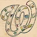 Washington Nationals Logo Vintage by Florian Rodarte