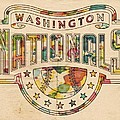 Washington Nationals Poster Art by Florian Rodarte