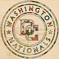 Washington Nationals Poster Vintage by Florian Rodarte