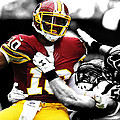 Washington Redskins Rg3 by Brian Reaves