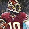 Washington Redskins' Robert Griffin IIi by Michael  Pattison