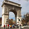 Washington Square Arch New York City by Thomas Marchessault