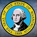 Washington State Seal by Movie Poster Prints