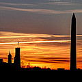 Washington Sunset by Walt  Baker