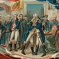 Washington Taking Leave Of His Officers by Anonymous