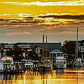 Washington Waterfront by Robert Mullen