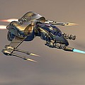 Wasp Fighter by Michael Wimer