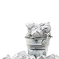 Waste Basket With Crumpled Papers by Shawn Hempel