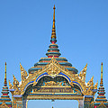 Wat Amarintaram Temple Gate Dthb1524 by Gerry Gantt