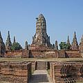 Wat Chaiwatthanaram From The East Dtha0187 by Gerry Gantt