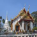 Wat Chumphon Nikayaram Phra Ubosot And Phra Chedi Dtha0122 by Gerry Gantt