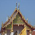 Wat Kampaeng Phra Ubosot Gable Dtha0143 by Gerry Gantt