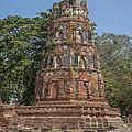 Wat Mahathat Conical Prang Dtha0228 by Gerry Gantt