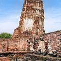 Wat Mahathat Temple In Ayutthaya by Artur Bogacki