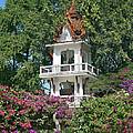 Wat Mahawanaram Bell And Drum Tower Dthu661 by Gerry Gantt