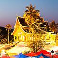 Wat Mai Temple And Night Market - Luang Prabang - Laos by Matteo Colombo