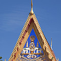 Wat Mongkol Nimit Gable Dthp0014 by Gerry Gantt