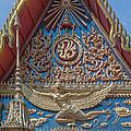 Wat Mongkol Nimit Ubosot Gable Kinara Dthp0594 by Gerry Gantt