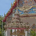 Wat Mongkol Nimit Ubosot Gate Dthp0593 by Gerry Gantt
