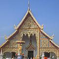Wat Phra Singh Phra Wihan Luang Gable Dthcm0238 by Gerry Gantt
