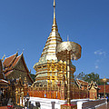 Wat Phratat Doi Suthep Golden Chedi Dthcm0002 by Gerry Gantt