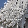 Wat Rong Khun Ubosot Gable Finials Dthcr0047 by Gerry Gantt