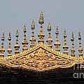 Wat Roof Detail by Vivian Christopher