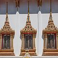 Wat Sapum Thammaram Ubosot Windows Dthp227 by Gerry Gantt