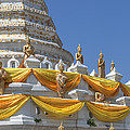 Wat Songtham Phra Chedi Buddha Images Dthb1916 by Gerry Gantt