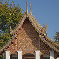 Wat Sri Don Chai Phra Ubosot Gable Dthcm0095 by Gerry Gantt