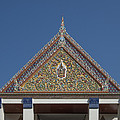 Wat Thewasunthon Preaching Hall Gable Dthb1423 by Gerry Gantt