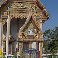 Wat Thewasunthon Ubosot Gate Dthb1420 by Gerry Gantt
