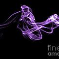 Watch The Flow - Purple by Alexander Butler