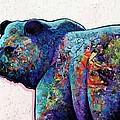 Watchful Eyes - Grizzly Bear by Joe  Triano