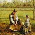 Watching Father Work by Albert Neuhuys