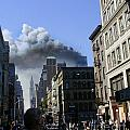Watching North Tower Burning by Steven Spak