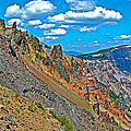 Watchman Overlook In Crater Lake National Park-oregon by Ruth Hager