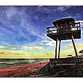 Watchtower On The Beach by Alice Gipson