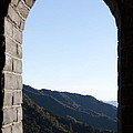 Watchtower View From The Great Wall 1082 by Terri Winkler