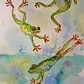 Water Aerobics by Judy Lynch-Smithey