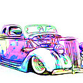 Water Colors 36 Ford by Steve McKinzie