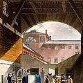 Water Engine, Coldbath Fields Prison by T. & Pugin, A.C. Rowlandson