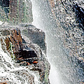 Water Fall Off Mt. Wilson Colorado by Gary Benson