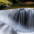 Water Falling Great Smoky Mountains by Rich Franco
