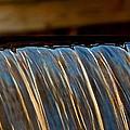 Water Falls Edge 3 by Michael Saunders