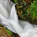 Water Flowing Over Rocks  Hawick by John Short