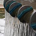 Water Fountain Natural Art In Progress by Robin Maria Pedrero