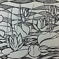 Water Lilies by Ashley Grebe