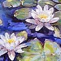 Water Lilies by Donna Tuten