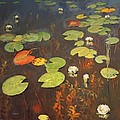 Water Lilies by Isaak Ilyich Levitan